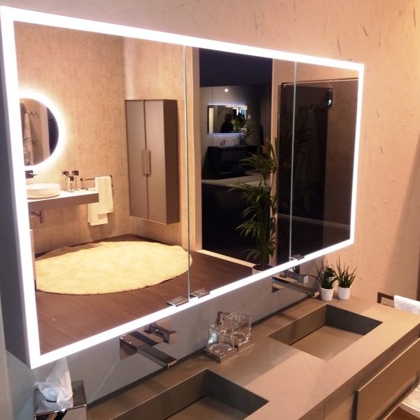 Inda Hanging Bathroom Mirror Cabinet
